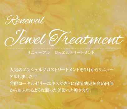 Renewal Jewel Treatment